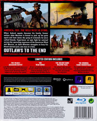 the redemption manual red dead redemption special edition 2010 playstation 3 box