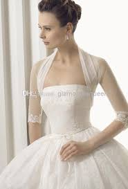 wedding dress with bolero high neck wedding accessories bridal jacket bolero tulle
