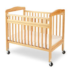Mini Folding Crib La Baby Mini Portable Non Folding Wooden Window Crib With Safety Gate