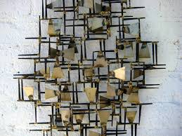 Home Decor Metal Wall Art Geometric Metal Wall Art