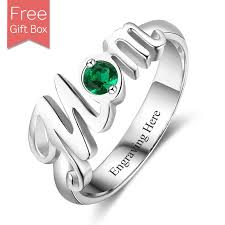 make mothers rings images Mom name ring with birthstone rsnamenecklace jpg