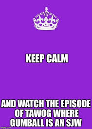 How To Make A Keep Calm Meme - keep calm and carry on purple memes imgflip