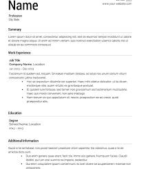 download templates for resumes haadyaooverbayresort com