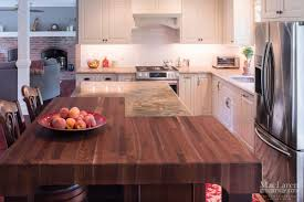 custom wood countertops maclaren kitchen and bath natural walnut butcher block countertop wayne pa