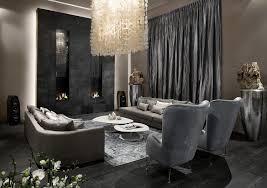 wohnideen dunklem grund wohnzimmer in grau und schwarz gestalten 50 wohnideen