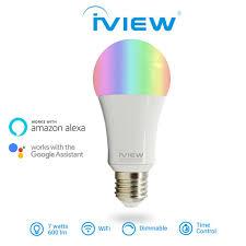 alexa compatible light bulbs isb600 affordable 7w 600lm 85v 265vac 50 60hz e27 e26 smart