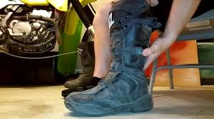 waterproof motocross boots oneal element motocross boots review youtube