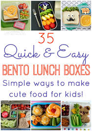 35 quick u0026 easy bento lunch boxes happiness is homemade