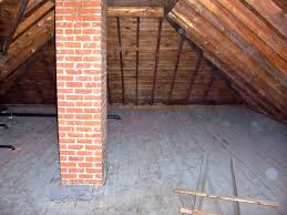 about amish our attic space before and during renovation then came the messy insulation that made the attic look like a cave