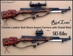 sks rick lowe stock leather ammo carriers sks pinterest