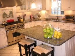 white kitchen cabinets with granite countertops antique white