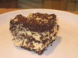 frosted peanut butter chocolate eclair cake recipe just a pinch