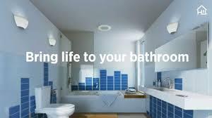 home netwerks bluetooth bath fan with led light youtube