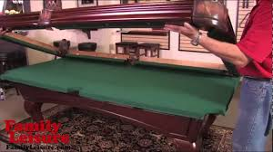 Pool Table Rails Replacement How To Install A Pool Table Slate Billiard Pool Table