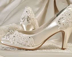 wedding shoes for lace wedding shoes etsy
