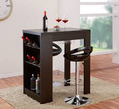 Mini Bar Furniture by Amazon Com Iohomes Atlas Console Bar Work Station Cappuccino