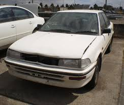 91 toyota corolla toyota corolla right fender guard ae92 sedan hatch white 91 94