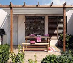 Pergola With Fabric by Retractable Roof Systems
