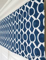navy blue white window treatment navy blue valance navy