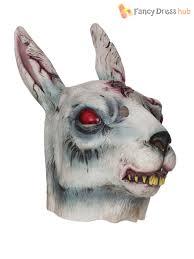 bunny mask rabbit mask evil bunny horror fancy dress