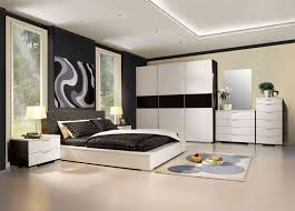 bedroom white contemporary leather panel bed violet modern