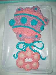 baby shower rattle cupcake cake decorating idea creative mind