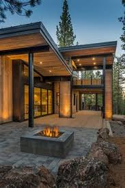 Contemporary Cabin Stunning Contemporary Chalet Swiss Chalet Style Pinterest