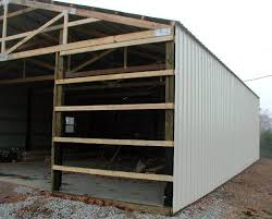 Barn Garage Doors Pole Barn Garage Decor References