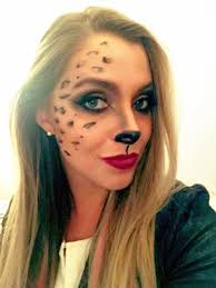 Girls Halloween Makeup Halloween Makeup Tutorial Cheetah Beauty With Care