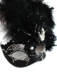 unique masks unique luxury swarovski black swan venetian masquerade mask