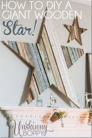 Clean Scrape Deluxe Quot Wipe How To Diy A Giant Wooden Star You Will Not Believe How Simple