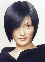 relaxed short bob hairstyle body paintings hot