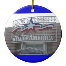 mall of america ornament zazzle