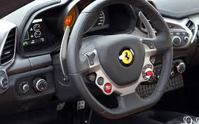 458 italia steering wheel free 458 italia luxury sports car desktop wallpapers