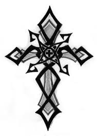 Cross Tatoo - tribal cross by d0th on deviantart