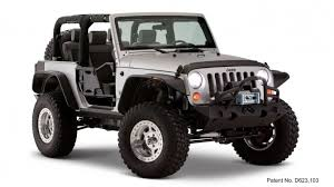07 jeep wrangler 2007 2017 jeep wrangler bushwacker flat style black fender flares
