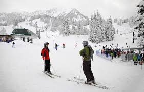 washington s ski areas ride into late season the seattle times