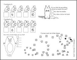 groundhog theme unit printables ideas activities