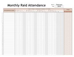 Weekly Attendance Sheet Template Free Printable Attendance Sheet For Office And Helloalive