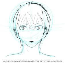 how to draw anime boys