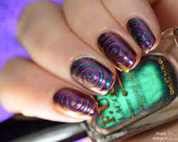 simply nailogical fun lacquer multi chrome trippy cyclones