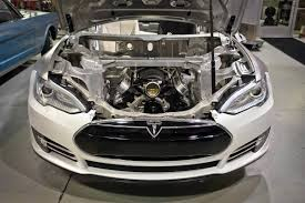 analyzing tesla s electric car tesla electric car engine and cars