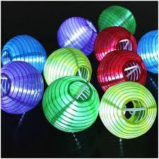led lantern string lights solar colorful small lantern 10 led string lights party decoration