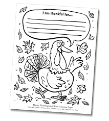 free thanksgiving coloring