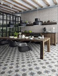 bodenfliesen küche küche bodenfliesen mit marokkanische enkaustik zement stil für