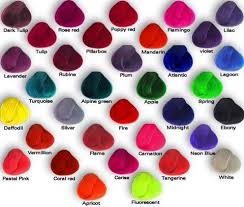 Types Of Hair Colour by Different Types Of Hair Color By Iloveemos2 On Deviantart