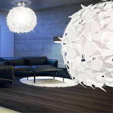 Esszimmer Lampe Rund Pendel Decken Kugel Blätter Lampe Hänge Leuchte Steckbar Ess