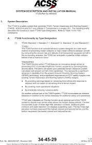 t3c 16 tcas and transponder user manual users manual acss an l 3