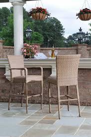 Whitecraft Patio Furniture Whitecraft By Woodard Wicker Padded Seat 24