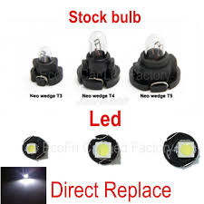 dashboard led light bulbs wljh t3 t4 2 t4 7 led neo wedge switch radio climate control bulb